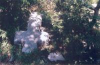 Golemi kriz na groblju kod utvrde Brec